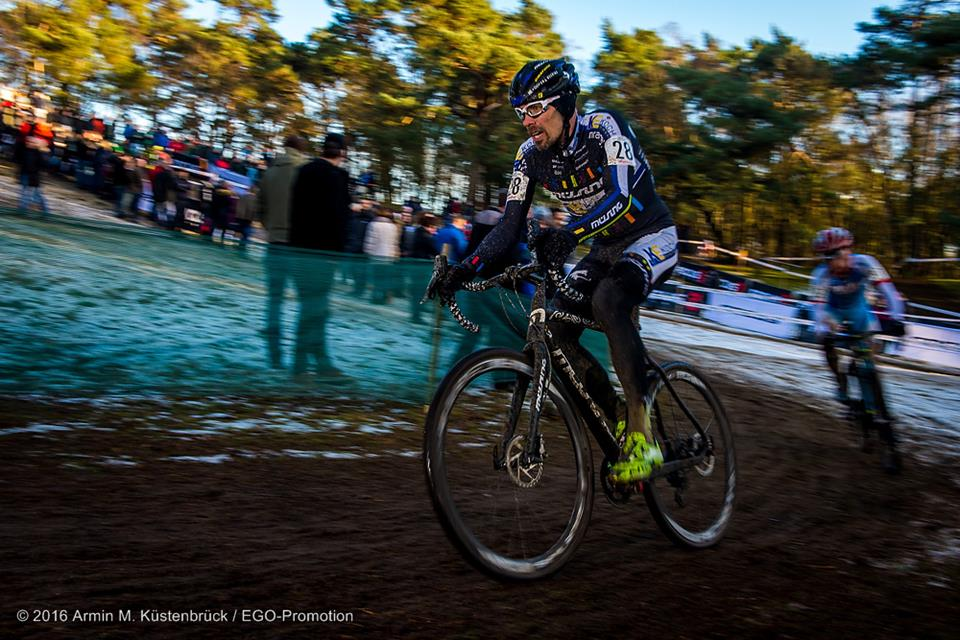 Successful start for WOLFRAM and LUKAS at the german CYCLOCROSS championship